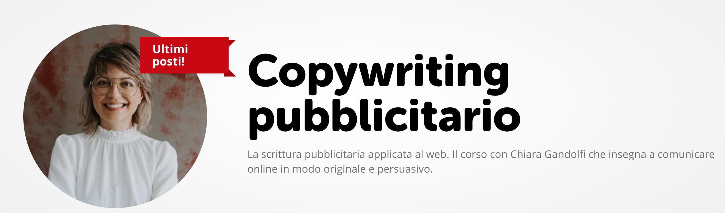 Corsi Copywriting_screenshot Chiara Gandolfi