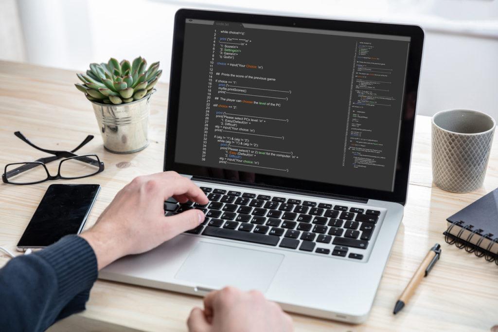 Programmazione di un sito con i codici