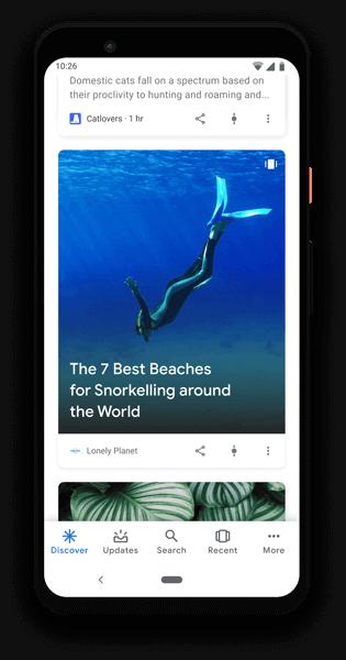 Google Discover Web Stories Lapenna del Web