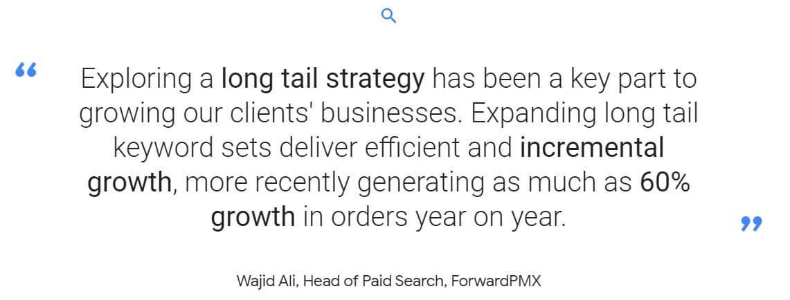 Long tail keyword importanza traffico e-commerce La Penna del Web